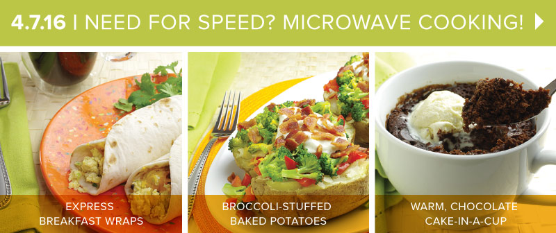 How to Cook with a Microwave Oven