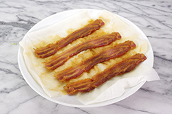 Bacon Crisped