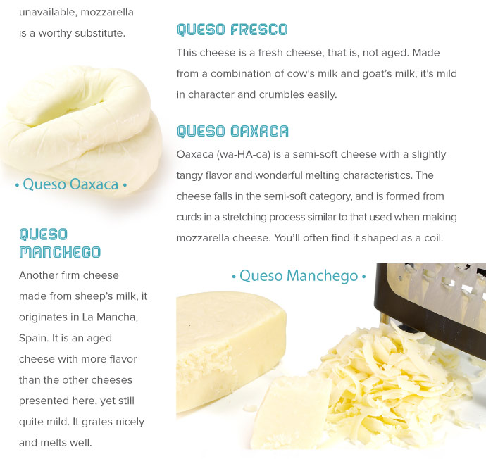 Queso Types