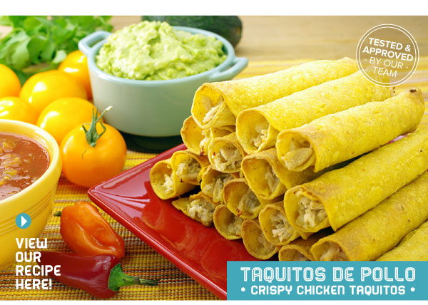 RECIPE: Taquitos de Pollo