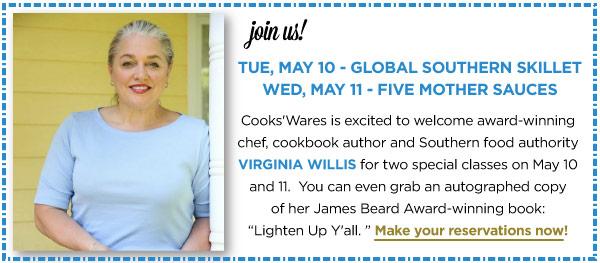 Virginia Willis Classes