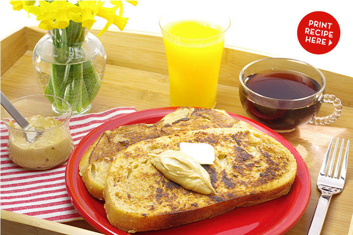 Chai French Toast with Maple Cream