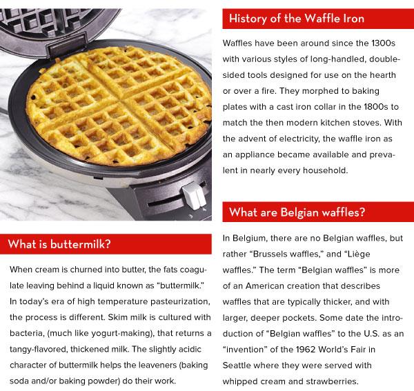 History of Waffles