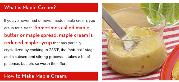 What is Maple Cream