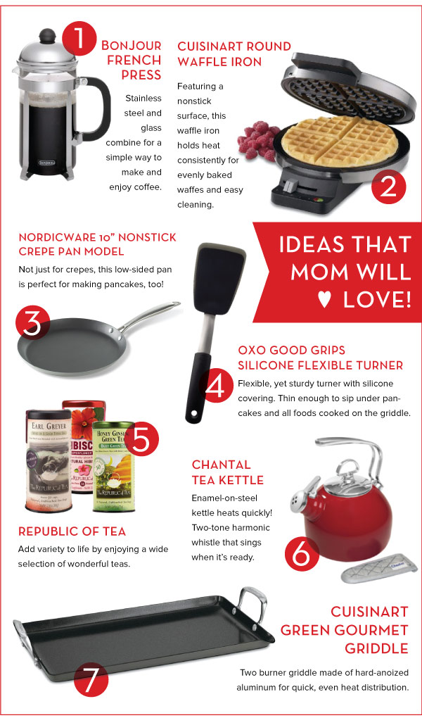 Ideas that Mom will Love