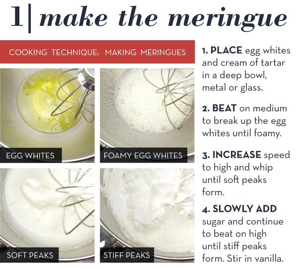 Make the Meringues