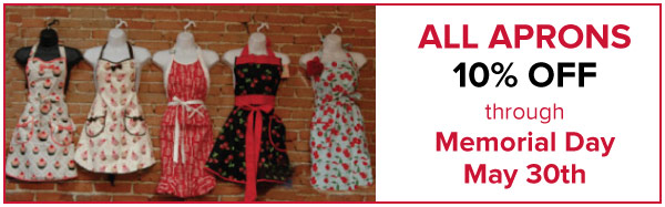 Aprons on Sale