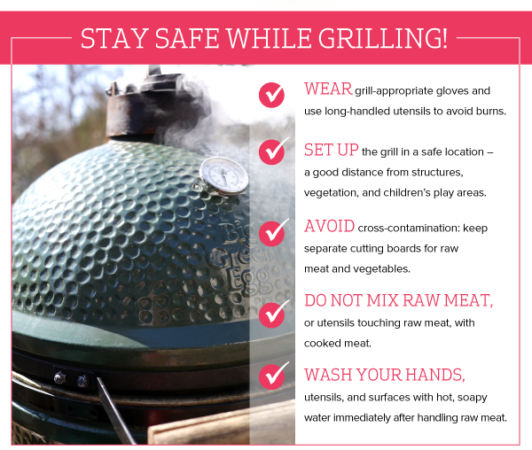 Stay Safe While Grilling