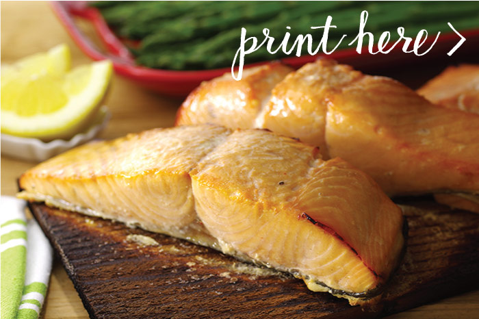 Cedar-Planked Hot-Smoked Salmon