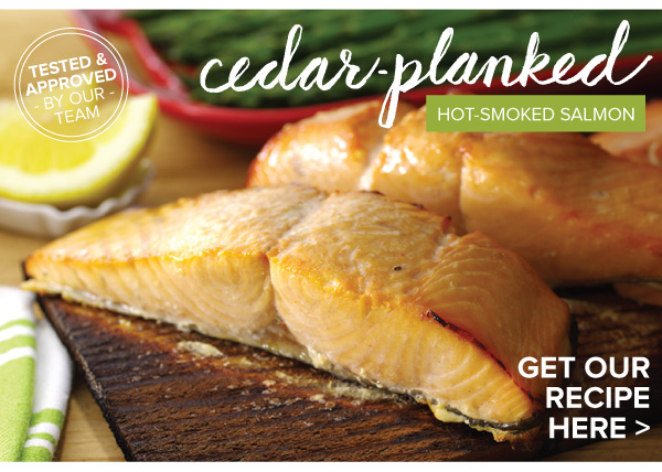RECIPE: Cedar-Planked Hot-Smoked Salmon