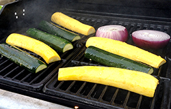 Squash on Grill