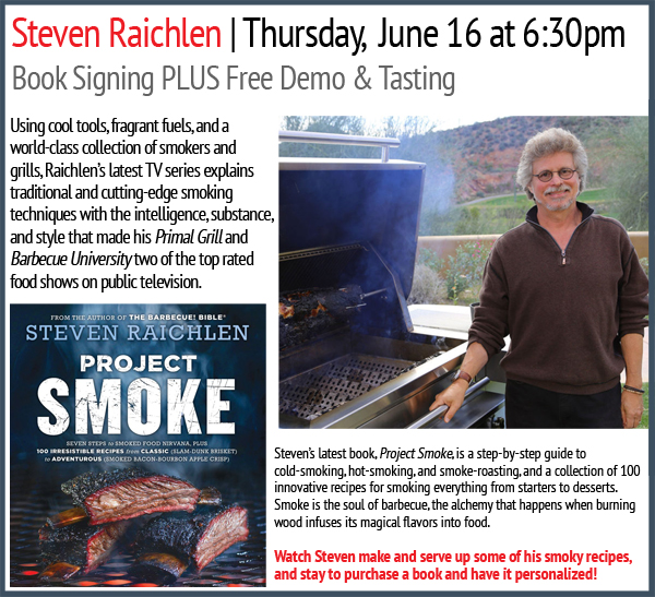 Steven Raichlen event