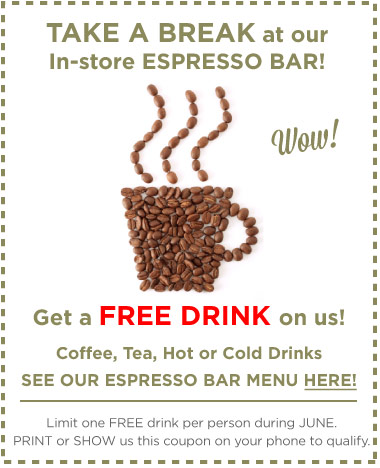 Free Drink Coupon