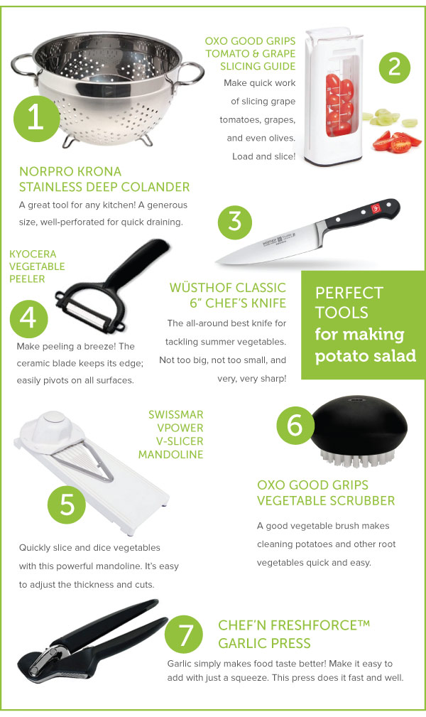 Perfect Tools for Potato Salad