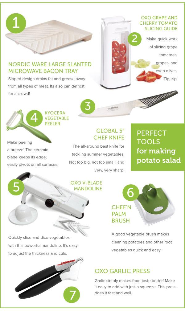 Perfect Tools for Making Potato Salad