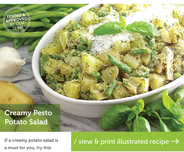 RECIPE: Creamy Pesto Potato Salad