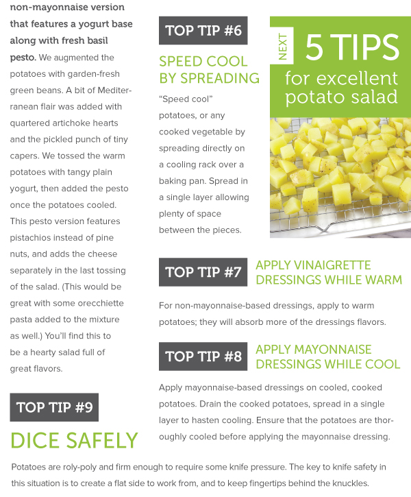 Potato Salad Tips