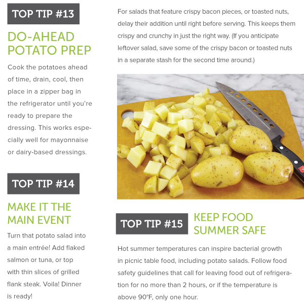 Do Ahead Potato Prep