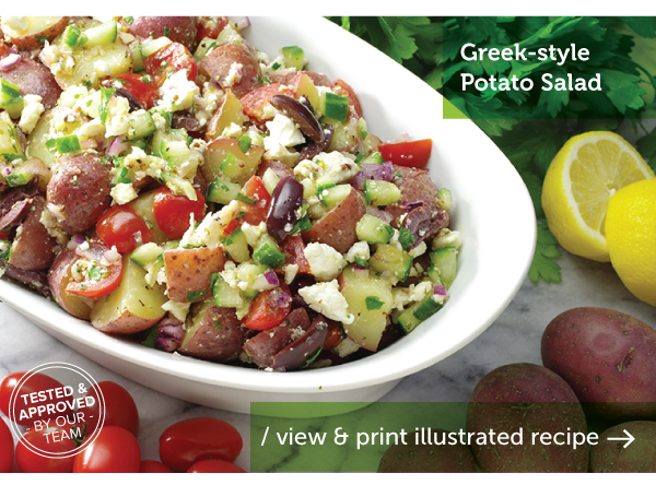 RECIPE: Greek-Style Potato Salad