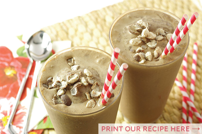 Old-Fashioned Double Dark Chocolate Malts