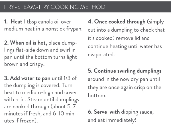 Fry-Steam-Fry Method