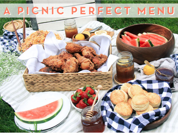 A Picnic Perfect Menu Newsletter Mytoque