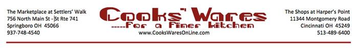 Cooks'Wares Masthead