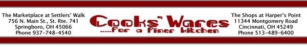Cooks'Ware Banner