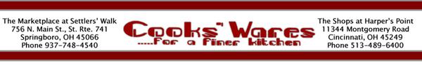 CooksWares Banner