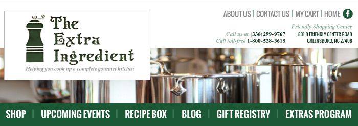 Extra Ingredient Masthead