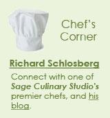 Chef's Corner - Richard Schlosberg