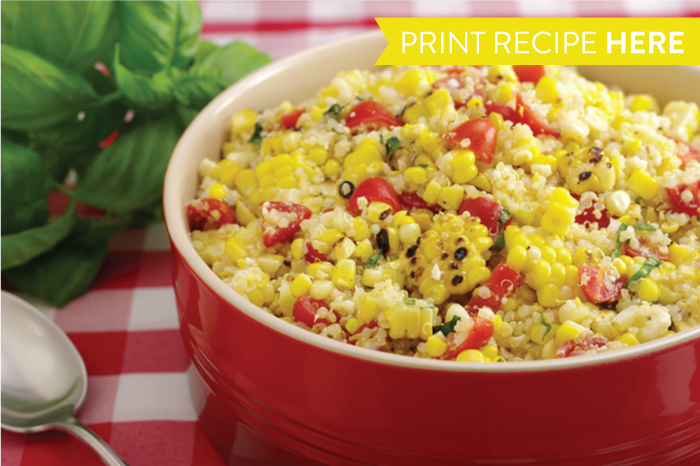 Grilled Corn and Quinoa Summer Salad