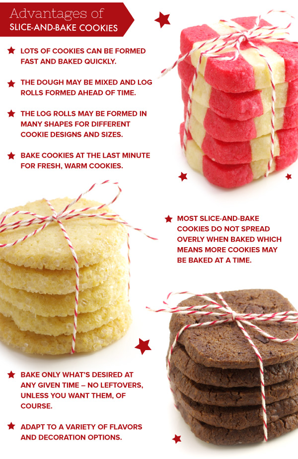 Advantages of Slice and Bake Cookies