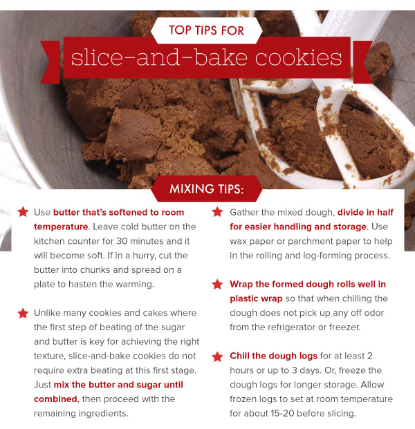 Top Tips for Slice and Bake Cookies