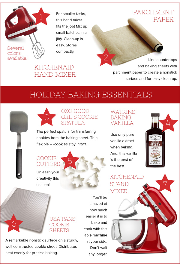 Holiday Baking Essentials