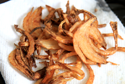 Frizzled Onions