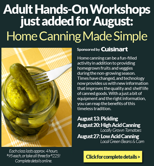 Canning Classes