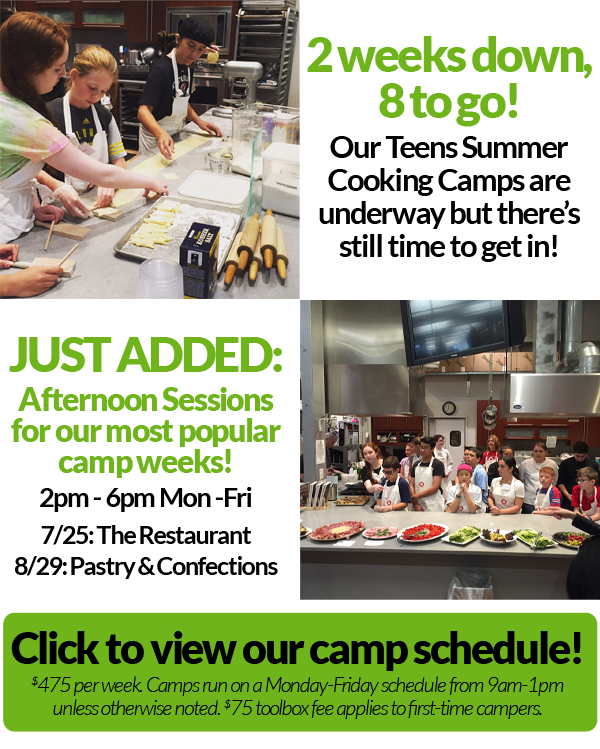 Teens Cooking Camp