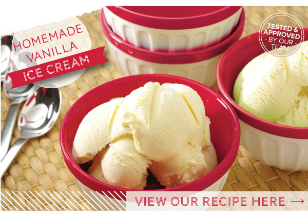 RECIPE: Homemade Vanilla Ice Cream