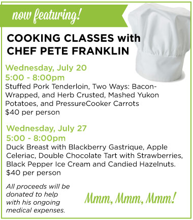 Pete Franklin Classes
