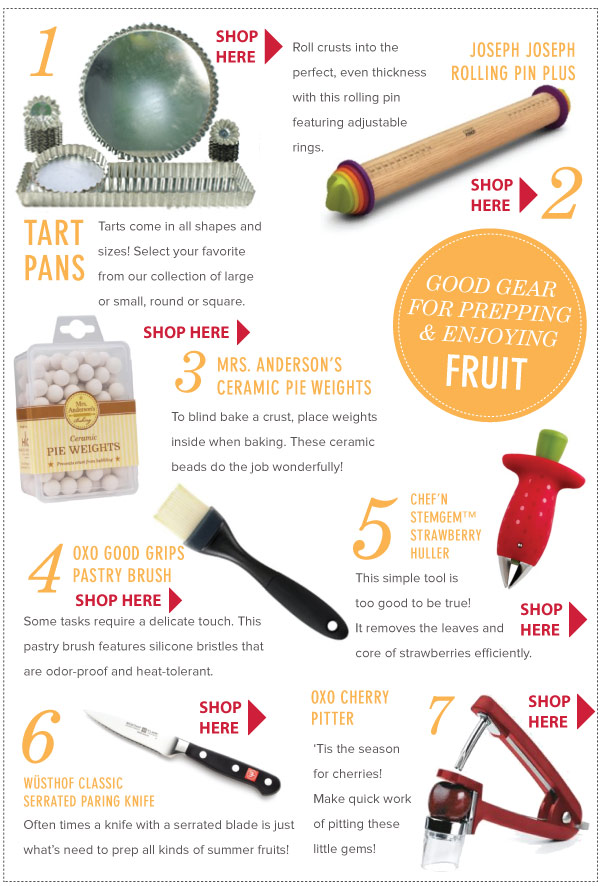 Good Gear for Prepping Fruit