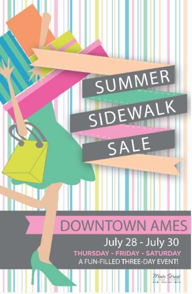 Main Street Downton Sidewalk Sale