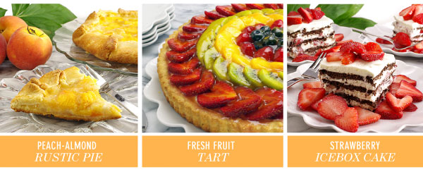 Fresh Summer Fruit Delights