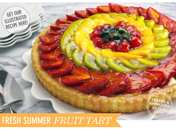 Recipe: Fresh Summer Fruit Tart