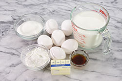 Ingredients - Pastry Cream