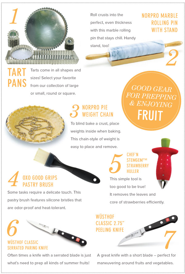 Good Gear for Prepping and Enjoying Fruit