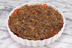 Tart Topped with Onions