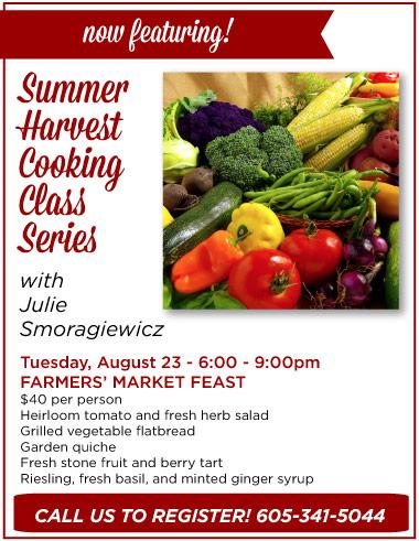 Summer Harvest Class