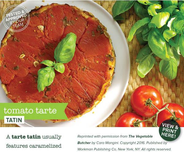 RECIPE: Tomato Tarte Tatin