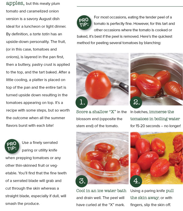 Pro Tips for Peeling Tomatos